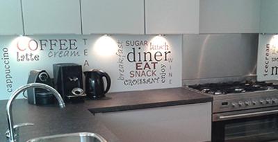Design keuken achterwanden van Visualls