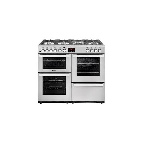 Belling Cookcentre 90 DFT Deluxe rvs